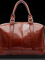 Erlen Women's New Korean Style Fashion Tote/On Eshoulder/Crossbody Bag(Brown)