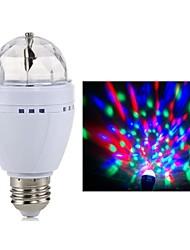 3W E27 LED colorido Bulb Salvar Lâmpadas