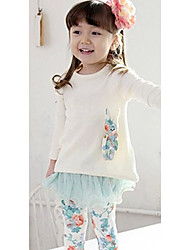 Girl's Clothing Set Lycra / Mesh Winter
