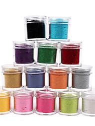 1PCS Velvet Nail Art Decorative Powder(Assorted Colors)