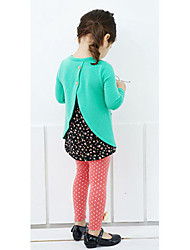 Girl's Clothing Set Cotton Winter
