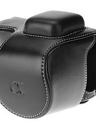b-5t-bk Minitasche für Kamera (schwarz / braun)