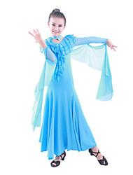 Fée Viscose dentelle moderne de robe de danse pour enfants de performance (plus de couleurs)
