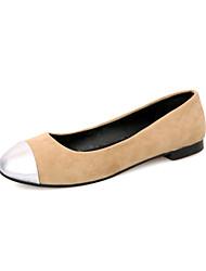 женская плоским каблук-схождение балерина ботинок квартир (больше цветов)