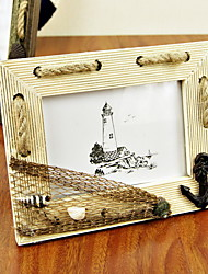 Beach Theme Wooden Photo Frame (More Colors)