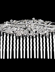 Women's Rhinestone Alloy Headpiece-Wedding Special Occasion Hair Combs
