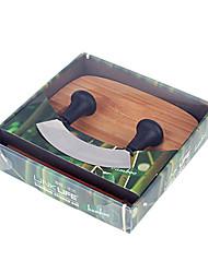 Bamboo Queijo Set, W20cm x L20cm x H2cm