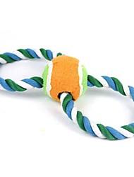 New Cotton Rope Interactive Reinigung Zähne Spielzeug für Haustiere