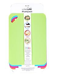 Tábuas de corte de plástico, conjunto de 4, W21cm x L30cm x H0.2cm