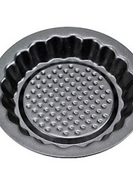 Sun Flower Shape Muffin Cupcake Pans and Tart Pans, 3 Pieces per Set, Non-sticked Coated