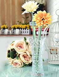 Table Centerpieces Sunflower Design Glass Vase  Table Deocrations