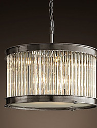 Crystal Pendant Lights , Vintage Living Room/Dining Room/Bedroom Metal