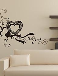 Romântico Coração decorativo adesivos de parede