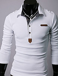 U&F Men's Fitted White T-Shirt