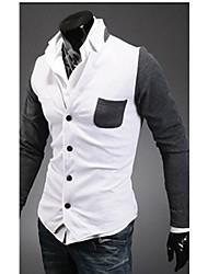 Men's Long Sleeve Short Blazer , Cotton