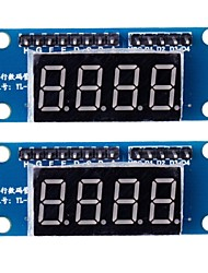 4 Digit Módulo Display LED 8550 Paralela Triode Driving (2PCS)