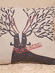 Coussin décoratif Motif Black Elk avec insert