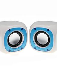 Music-M-50  High Quality Stereo USB 2.0Multimedia Speaker  (White)