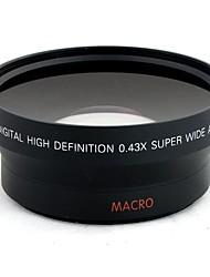 Général 67mm 0.43X Grand Angle Filtre Set