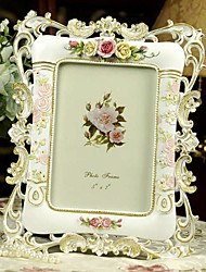 """6"""" 7"""" 10"""" Modern European Style Pearl Polyresin Picture Frame"""