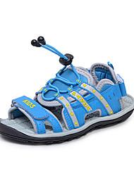 Dw Spring New Boys Strap Soft Sandals (Blue)