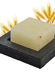 Handmade de trigo e laranja Essential Oil Soap Whitening Hidratante 100g