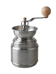 AYA-l45 High Quality Stainless Steel Manual Coffee Grinder / Ceramic Core - Sliver