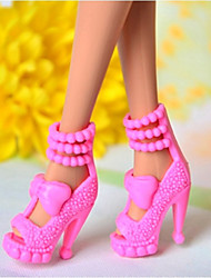 Barbie-Puppe Charming Girl Pink PVC-Sandalette