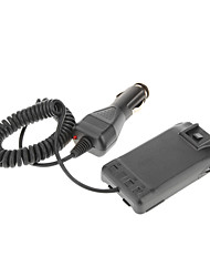 Quansheng TG-UV2 Car Charger 1100mAh Battery Eliminator Adapter for Walkie Talkie