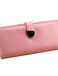 Mme Fold Wallet longue section (couleur de la doublure Randoms)