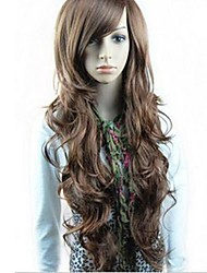 Synthetic Wigs Long Body Wavy Wigs Full Bang Wigs Heat Resistant
