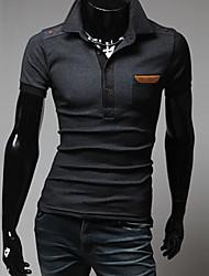 Casual gola Masculina INMUR T-shirt de mangas curtas