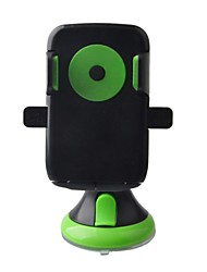 Universal 360 grados giratoria del montaje del coche para el teléfono móvil - Negro y verde