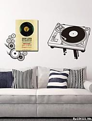 Still Life alten Rekord Maschinen dekorative Wand-Aufkleber