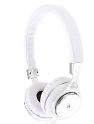 IP-804 3,5 mm pour écouteurs Salut-Fi casque supra-auriculaire avec micro (Argent)