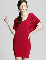 Women's Dresses , Others/Polyester/Spandex Zoely