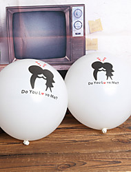 """Do You Love Me"" Balloon - Set of 24"