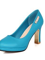 Women's Chunky Heel Platform Pumps/Heels Shoes(More Colors)