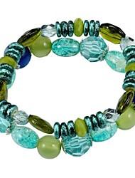 Beads Moda Acrílico estiramento Pulseira