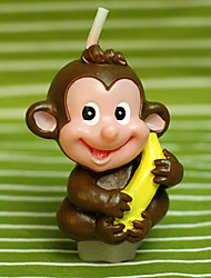 """Monkey Love Banana"" Candle"