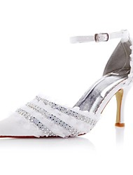 Women's Wedding Shoes Heels/D'Orsay & Two-Piece Heels Wedding/Party & Evening Ivory/White