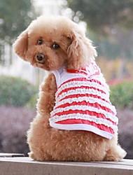 Animal belle robe chérie pour Animaux Chiens (Assortiment de couleurs, tailles)