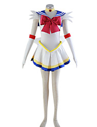 Sailor Moon Super S Sailor Moon Polyester Cosplay Costume