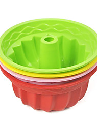 Muffin Silicone Mould Cake Decorating Baking Tool, Random Color