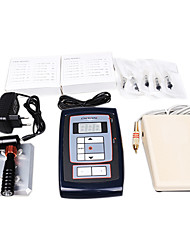 Permanent Makeup Tattoo Kits With Lcd Power Supply Needles