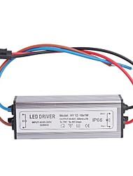 Wasserdicht IP66 (12-18) x1W LED-Treiber Power Source Converter (30-60V, 300mAh)