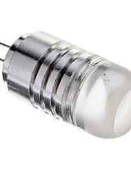 3w g4 led spotlight 1 cob 250-300 lm blanc chaud blanc froid ac 12 v 1pcs