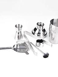 Conjunto de 5 aço inoxidável Cocktails Shaker