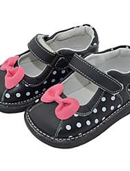 Zapatos de bebé - Planos - Vestido / Casual - Cuero - Negro / Marrón / Rosa