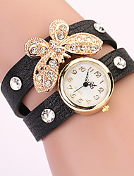 Koshi 2014 Feminina Bow Diamonade 2 Round Watch (Preto)